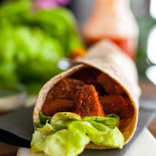 Buffalo Chicken Caesar Wrap