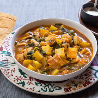Provençal Chicken & Potato Stew with Aioli & Garlic Toasts