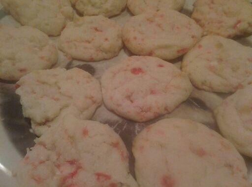 O' Candy Cane Cookies Recipe