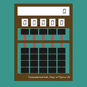 Digital Abacus Calculator