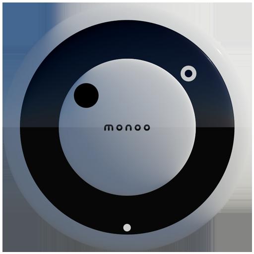 MONOO Analog Clock Widget