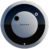 MONOO Analog Clock Widget
