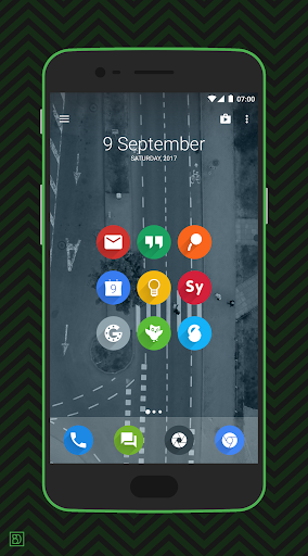rondo - flat style icon pack screenshot 1