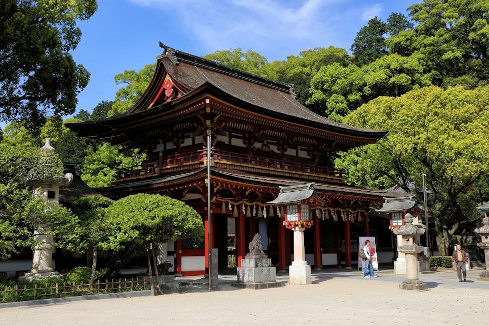 Świątynia Tenman-gū w Dazaifu