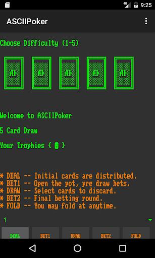 ASCIIPoker  screenshots EasyGameCheats.pro 1