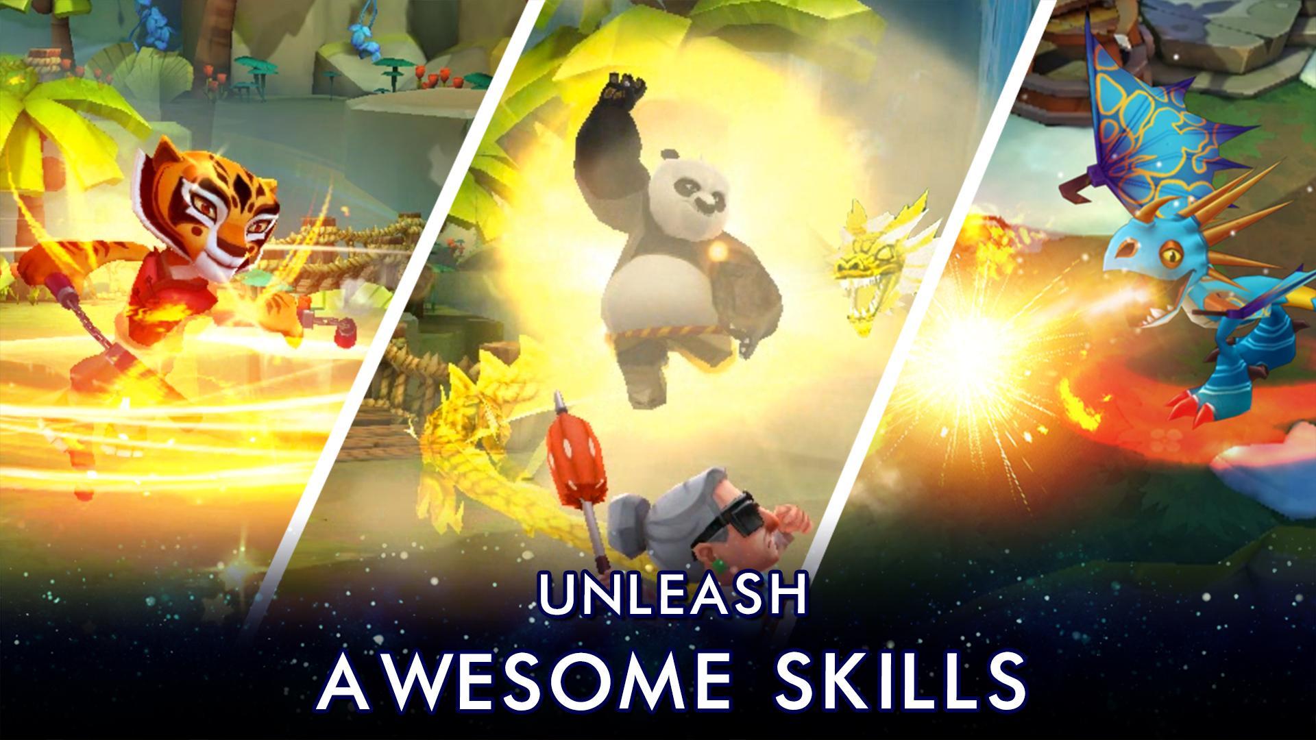 DreamWorks Universe of Legends screenshot #3