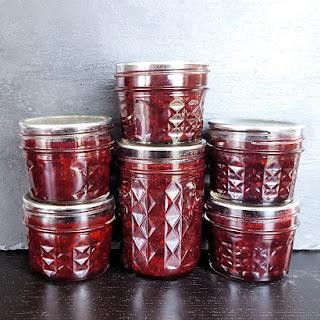 Small Batch Mixed Berry Bourbon Jam.