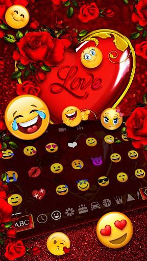 Valentine Heart Keyboard Theme 10001002 3