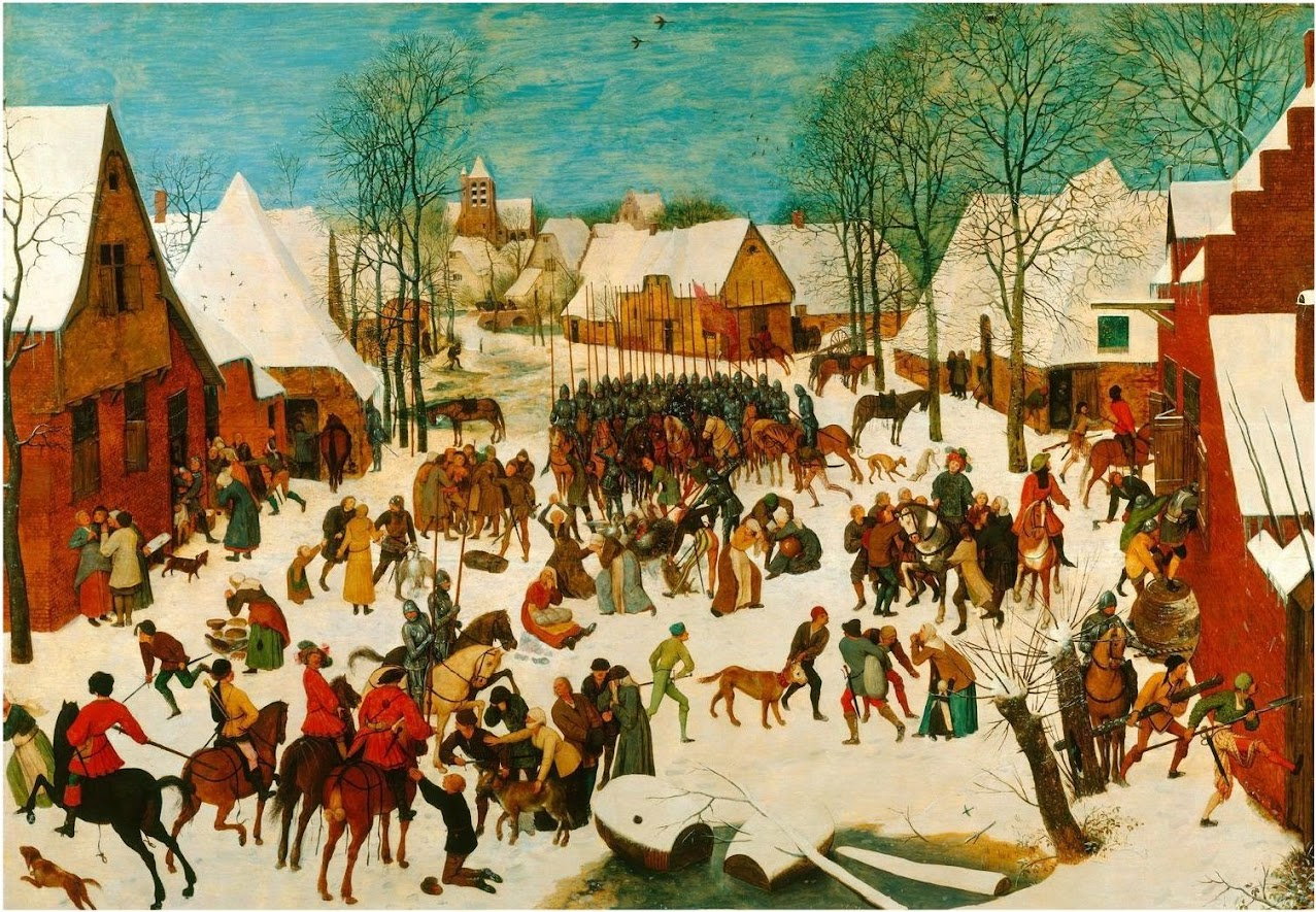 Article on Bruegel's Massacre of the Innocents.