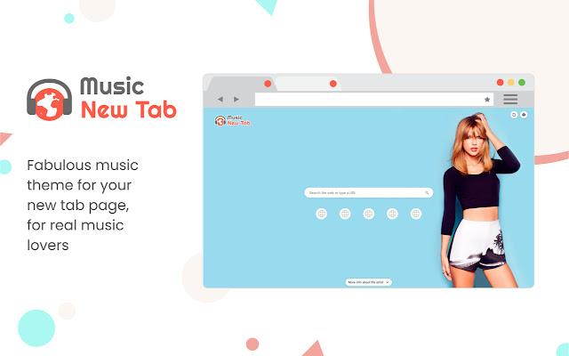 Music New Tab