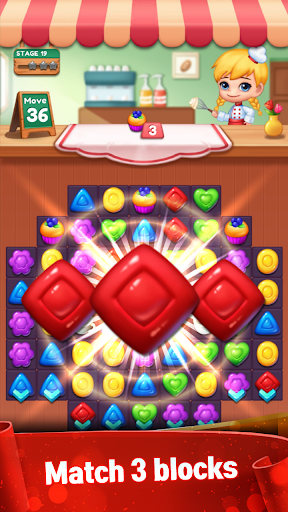 Sweet Candy POP : Match 3 Puzzle 1.0.2 screenshots 1