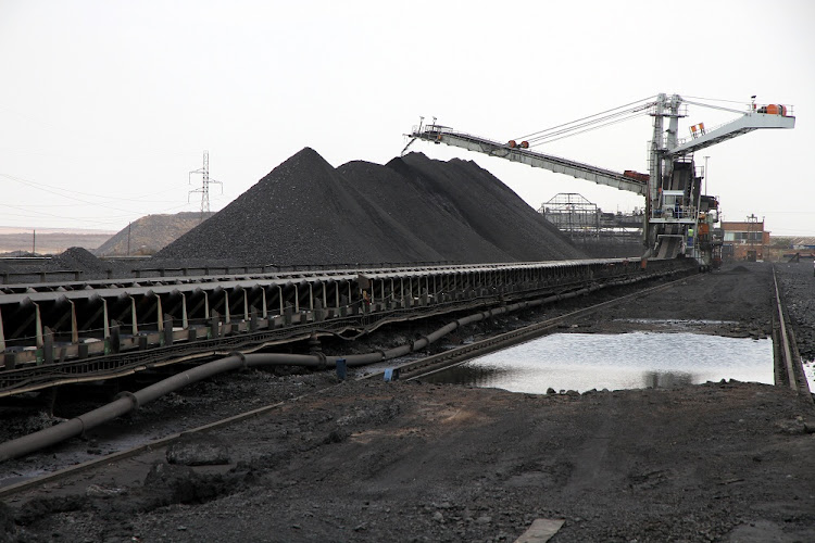 Image result for coal photo mines south africa not collected by eskom