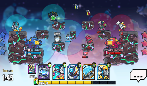 Cosmic Showdown - screenshot