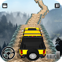 Offroad Jeep Driving Stunt 3D : Real Jeep Games icon