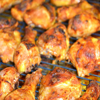 Tender Oven Baked Chicken Legs.