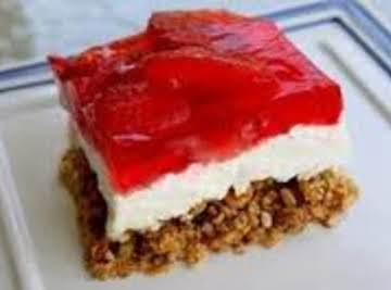 Pretzel Jello Salad Dessert