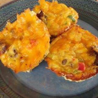 "Brunch or Lunch Baby ""Omelet Muffins""."