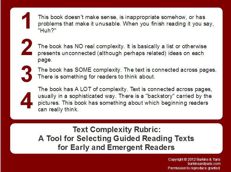 misunderstanding text complexity part 2