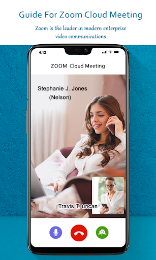 Guide for ZOOM Cloud Meetings Video Conferences screenshot 9