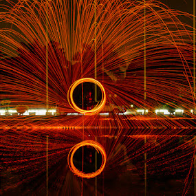 Steel Wool by Nassery Naz - Abstract Fire & Fireworks