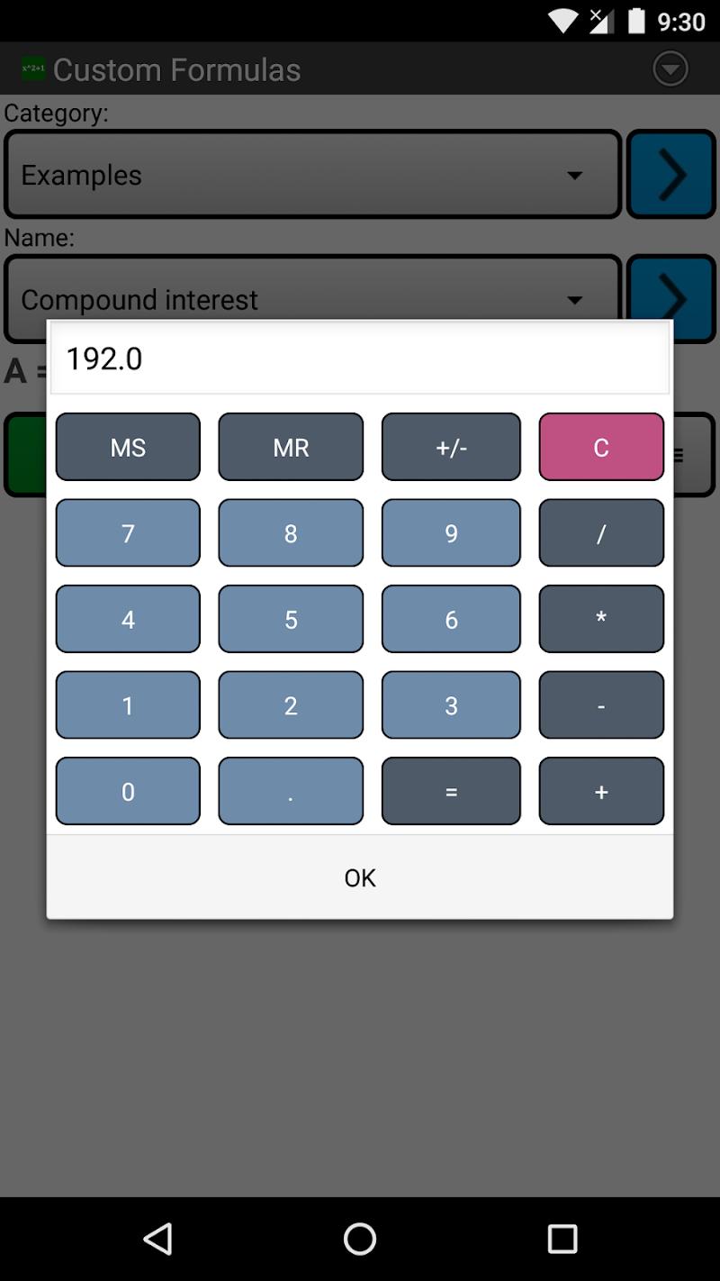 Custom Formulas Screenshot 5
