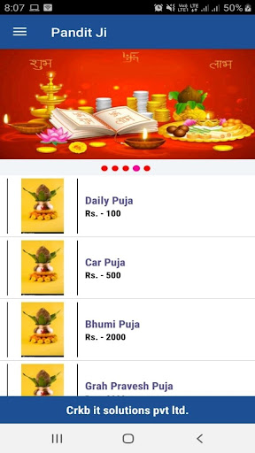 Puja On Go screenshot 1