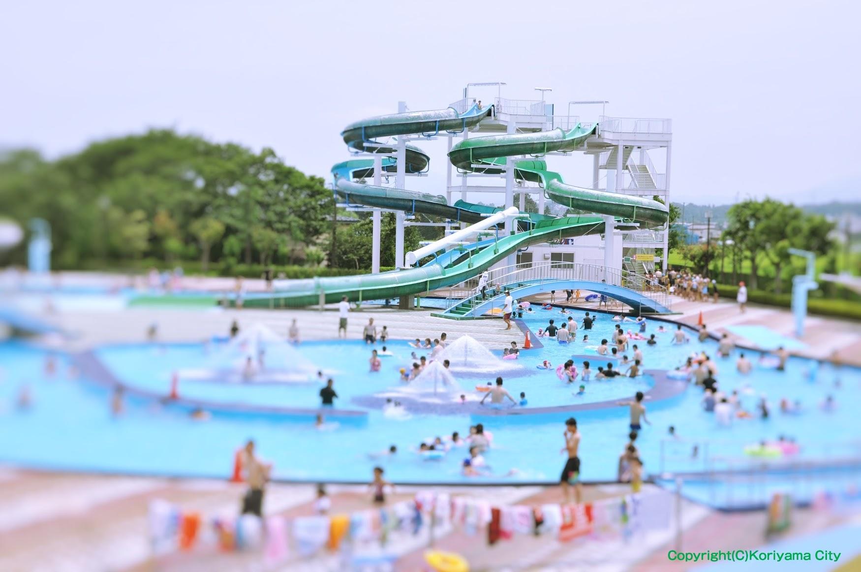 カルチャーパーク の プール