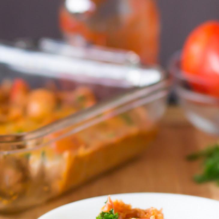 Cheesy Quinoa Casserole Recipe