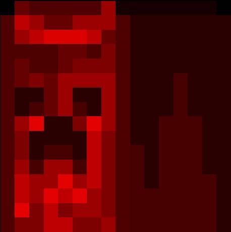 плаши для майнкрафт красный плаш с написано м #1
