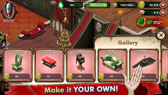 Addams Family: Mystery Mansion – The Horror House! Apk Download For Android and Iphone 5