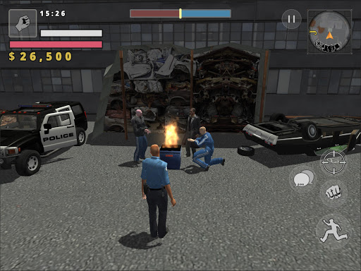 Police Cop Simulator. Gang War apkmr screenshots 13