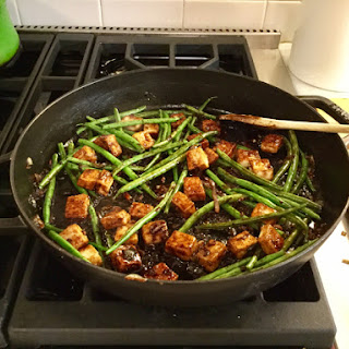 Crispy Tofu with Ginger and…Whatever.