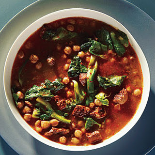 One-Hour Spanish Chickpea Soup