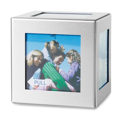 Aluminium Photo Cube