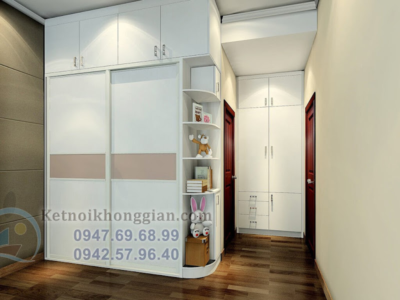 thiết kế phòng ngủ hiện đại 3