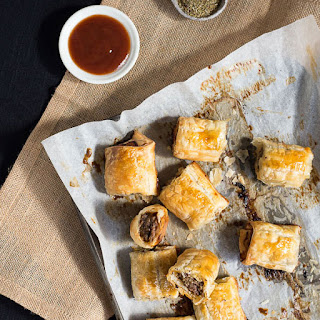 Easy-as Aussie Homemade Beef & Thyme Sausage Rolls Recipe