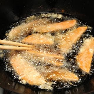 Tempura Vegetables and/or Shrimp.