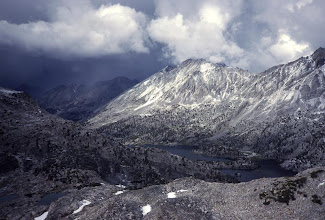 Photo: Storm over the Sierra Nevada