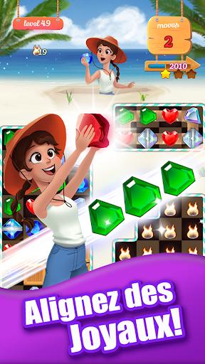 Télécharger Jewel Ocean - New Free Match 3 Puzzle Game apk mod screenshots 1