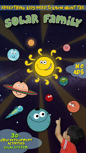 Solar Family - Planets of Solar System for Kids- screenshot thumbnail