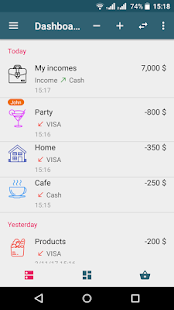 KeepFinance: Expense manager Screenshot