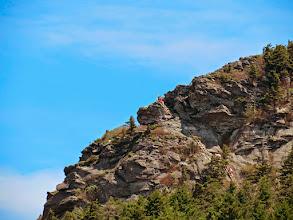Photo: Ladders on Attic Window Peak zoomed in