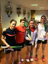 Photo: Double Dames B Vainqueur: Saphie Kern (avec Clémence Bloch)