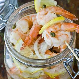 Southern-Style Pickled Shrimp.
