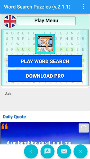 Find Words Game - Magazine Like Word find puzzles apkmind screenshots 6