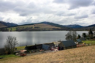Photo: Paddock in April behind Briar Cottages, Lochearnhead