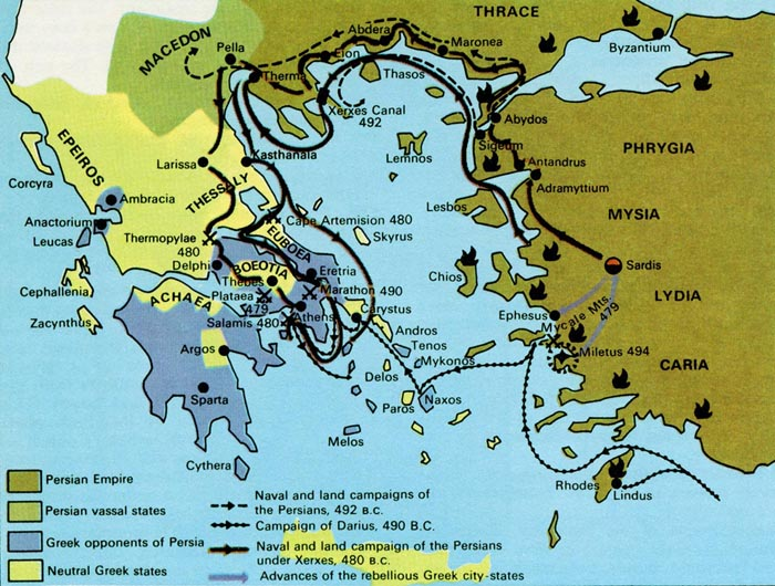 Persian Invasion Of Greece