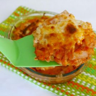 Low Carb Pasta Bake with Chicken.