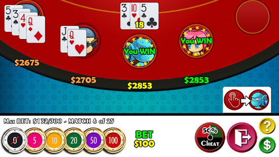 Cheaters Blackjack 21- screenshot thumbnail