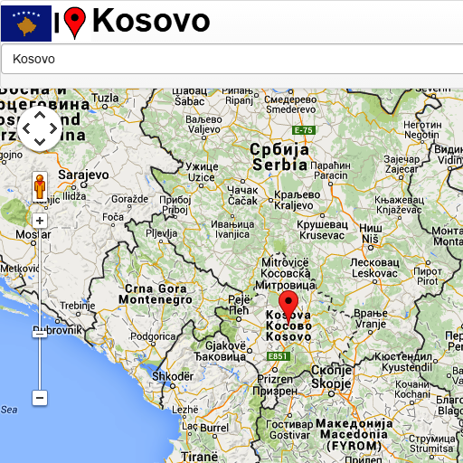 crna gora mapa google Pristina map   Apps on Google Play crna gora mapa google